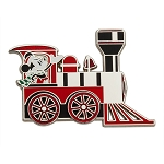Disney Pin - Mickey Mouse Holiday Train Pin - Toys For Tots