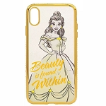 Disney iPhone Xs Max Case - Belle - Beauty and the Beast - Clear