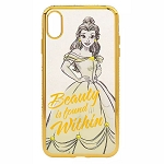 Disney iPhone Xs Case - Belle - Beauty and the Beast - Clear
