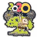Disney Pin - Russell - Animal Kingdom Tree of Life - 2020 Logo