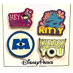 Disney 4 Pin Set - Monster's Inc