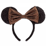 Disney Minnie Ears Headband - Belle of the Ball Bronze