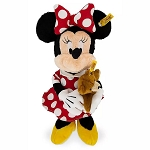 Disney Plush - Minnie Mouse w/ Teddy Bear by Steiff - 12''