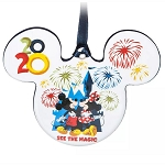 Disney Ornament - Mickey Mouse & Friends - Walt Disney World 2020 Logo
