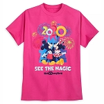 Disney Adult Shirt - Mickey & Minnie - See the Magic - Walt Disney World 2020 Logo