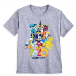 Disney Boys Shirt - Mickey & Friends - Walt Disney World 2020 Logo