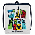 Disney Drawstring Cinch Bag - Walt Disney World 2020 Logo