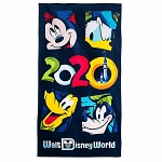Disney Beach Towel - Walt Disney World 2020 Logo