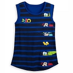 Disney Women's Shirt - Mickey & Friends Tank Top - Walt Disney World 2020 Logo