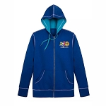 Disney Men's Zip Up Hoodie - Mickey & Friends - Walt Disney World 2020 Logo