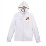 Disney Women's Zip-Up Hoodie - Mickey Mouse & Friends