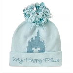 Disney Pom Pom Knit Hat - My Happy Place