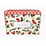 Disney Recipe Box - Mickey and Minnie Mouse