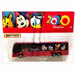 Disney Matchbox Die Cast Bus - 2020 Disney Parks