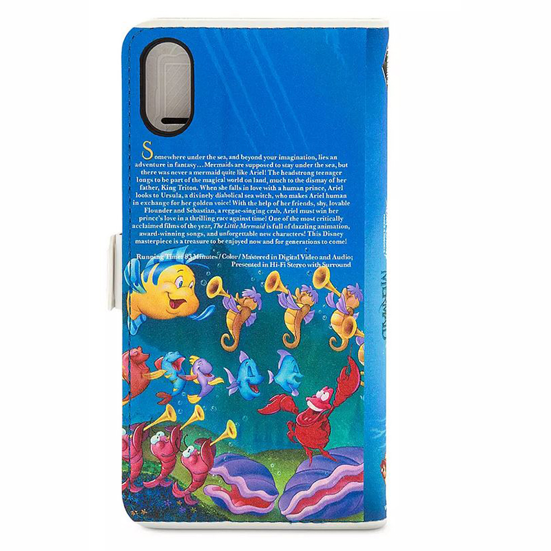 Little Mermaid VHS Cover iPhone XS Case