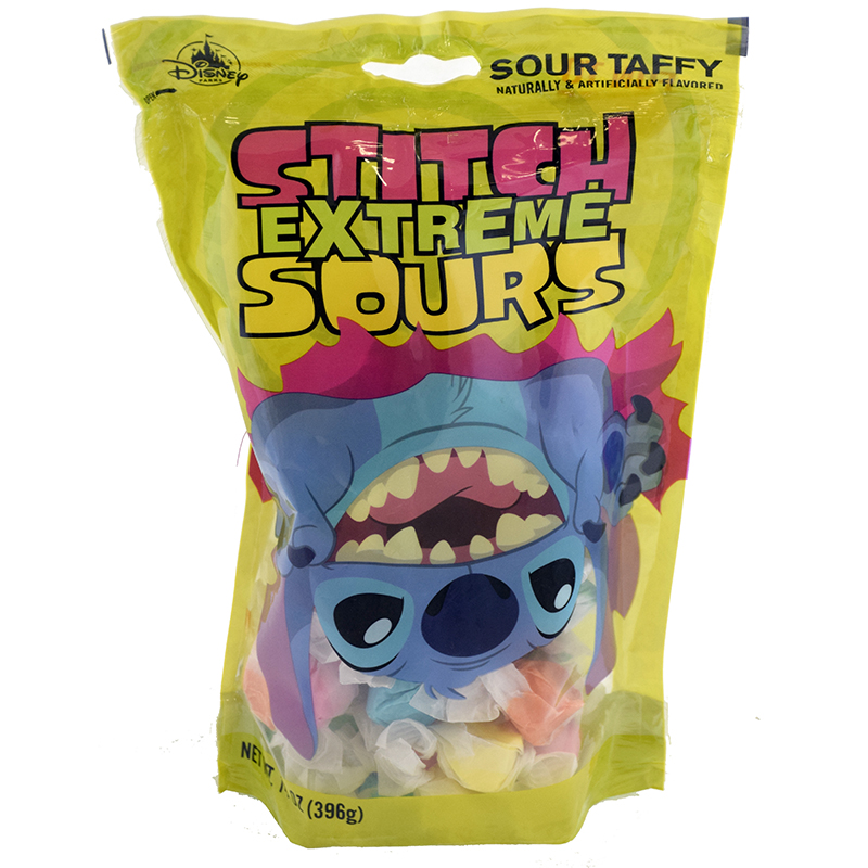 Disney Goofy Candy Co. - Stitch Extreme Sours - Taffy - Bag