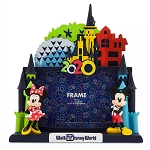 Disney 4x6 Photo Frame - Mickey & Minnie - Walt Disney World 2020 Logo