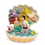 Disney Traditions by Jim Shore - Little Mermaid Shell Scene