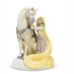 Disney Traditions by Jim Shore - Rapunzel White Woodland