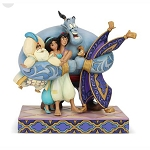 Disney Traditions by Jim Shore - Aladdin Group Hug