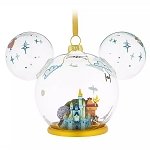 Disney Glass Ornament - Mickey Mouse Icon Walt Disney World - Disney Park Life Collection