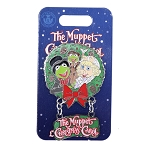 Disney Muppets Pin - The Muppets Christmas Carol - Kermit & Miss Piggy