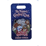 Disney Muppets Pin - The Muppets Christmas Carol - Gonzo & Rizzo the Rat