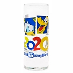 Disney Tall Shotglass - 2020 Mickey & Friends - Walt Disney World Logo
