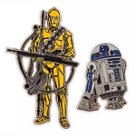 Disney Pin Set – R2-D2 and C-3PO - Star Wars: The Rise of Skywalker