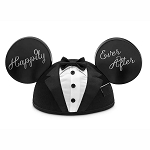 Disney Mickey Ear Hat - Mickey Mouse - GROOM - Happily Ever After