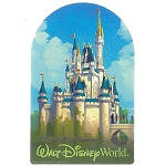 Disney Car Magnet - D-Tech - Walt Disney World - Cinderella Castle