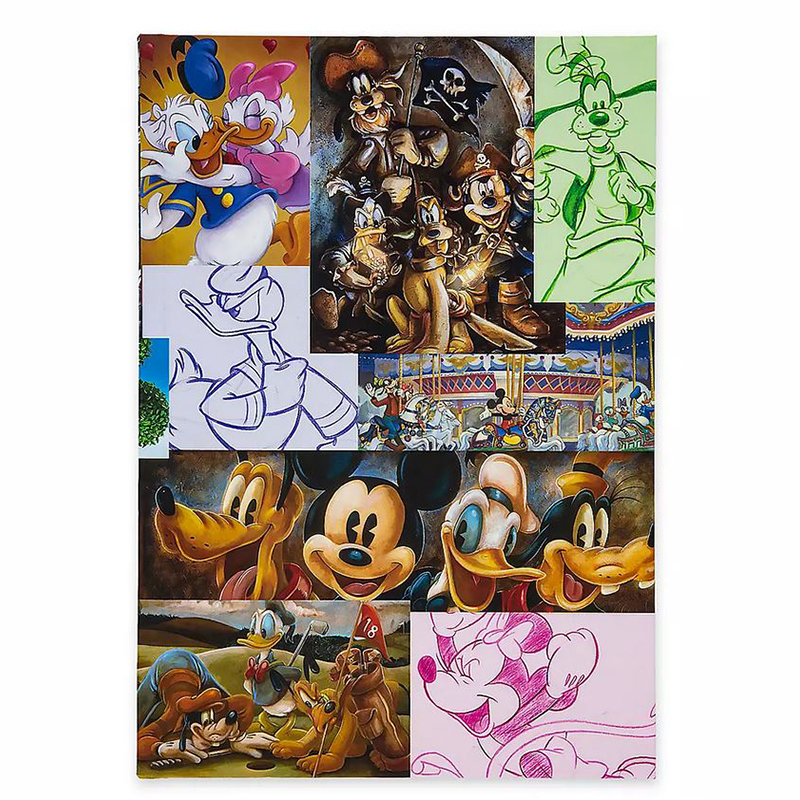 Disney Journal - Mickey Mouse and Friends Artwork