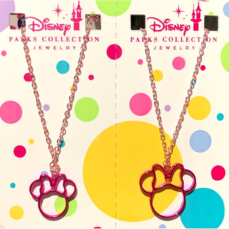 Disney Necklace Set - Minnie Mouse Icon - Mother / Daughter