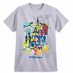 Disney Adult Shirt - Mickey Mouse & Friends - Walt Disney World 2020 Logo