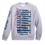 Disney Adult Sweatshirt - Mickey Mouse & Friends - Walt Disney World 2020 Logo
