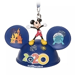 Disney Light-Up Ear Hat Ornament - Mickey & Friends – Walt Disney World 2020 Logo