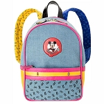 Disney Danielle Nicole Bag - The Mickey Mouse Club - Denim Mini Backpack