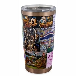 Disney Travel Tumbler w/ Lid - Mickey Mouse and Friends Artwork