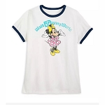 Disney Women's Shirt - Minnie Mouse Walt Disney World - Retro Ringer Tee