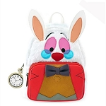 Disney Loungefly Bag - White Rabbit Cosplay - Mini Backpack