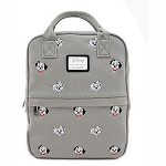 Disney Loungefly Bag - 101 Dalmatians - Canvas Embroidered Mini Backpack