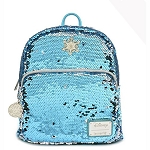 Disney Frozen Loungefly Bag - Elsa - Reversible Sequin Mini Backpack