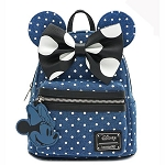 Disney Loungefly Bag - Minnie Mouse - Denim Mini Backpack