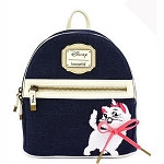 Disney Loungefly Bag - Marie - Denim Mini Backpack