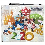 Disney Autograph Book - Mickey & Friends - 2020 Disney Parks Logo