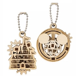 Disney UGears Wooden Puzzle Keychain Set - Disney Parks