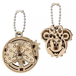 Disney UGears Wooden Puzzle Keychain Set - Minnie Mouse