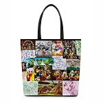 Disney Loungefly Bag - Mickey Mouse & Friends Artwork - Tote