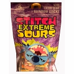 Disney Goofy Candy Co. - Stitch Extreme Sours - Sour Cherry Berry Rainbow Sticks