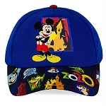 Disney YOUTH Baseball Cap Hat - Mickey & Friends - Walt Disney World 2020 Logo